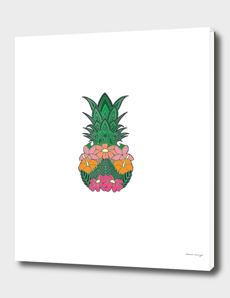 Flowered Pineapple