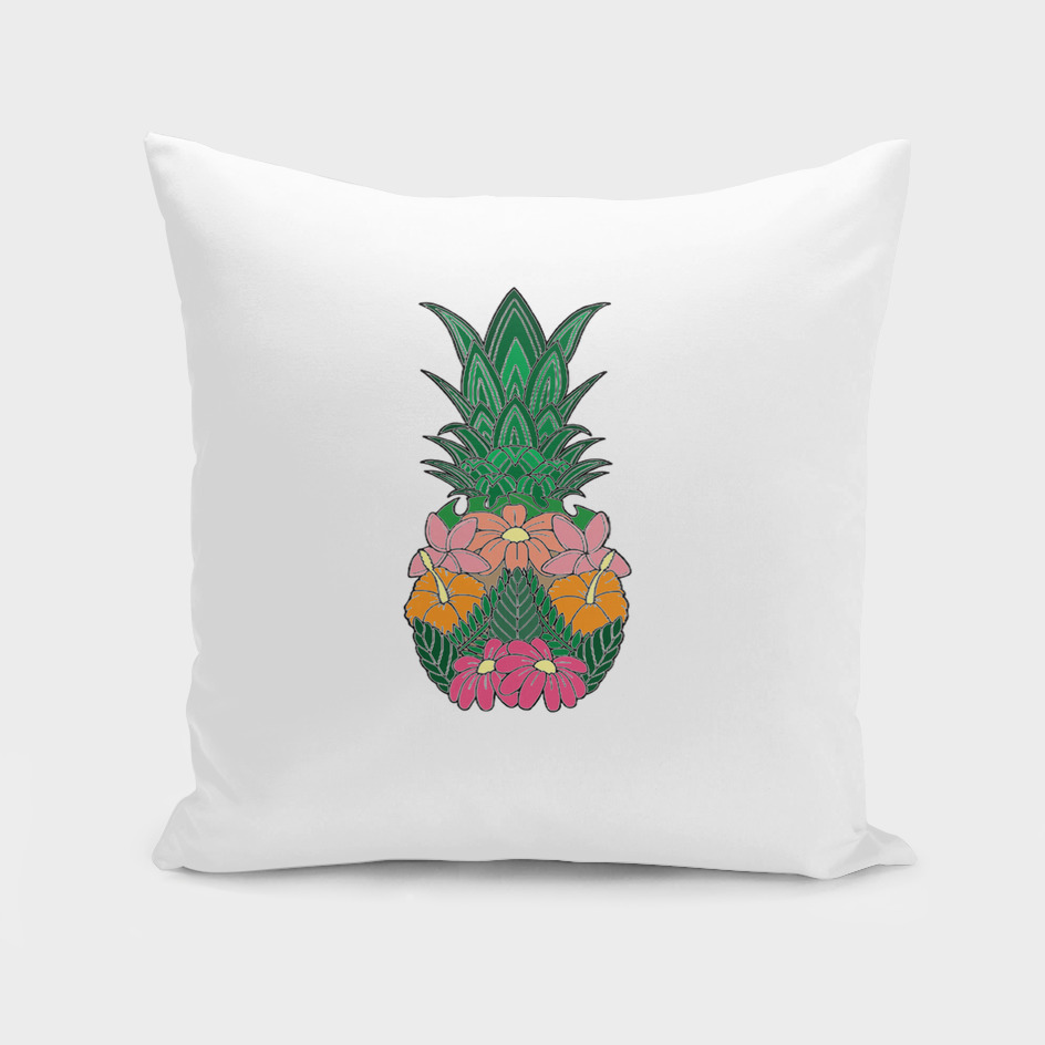 Flowered Pineapple