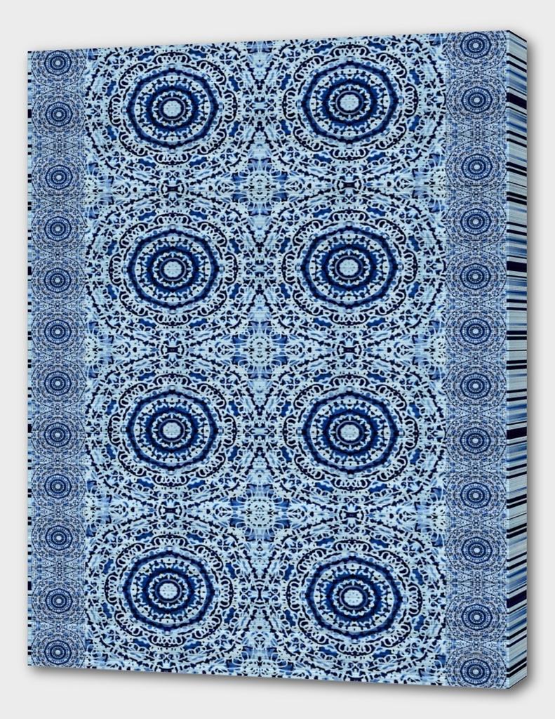 Blue Denim Mandala