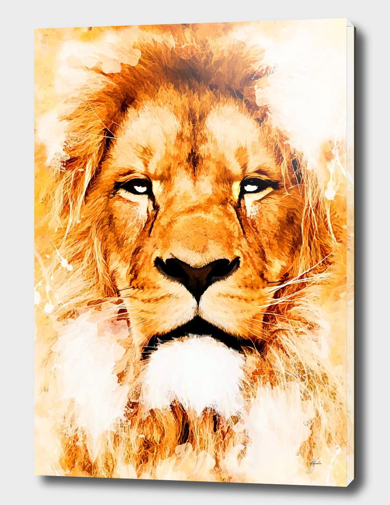 animal lion art