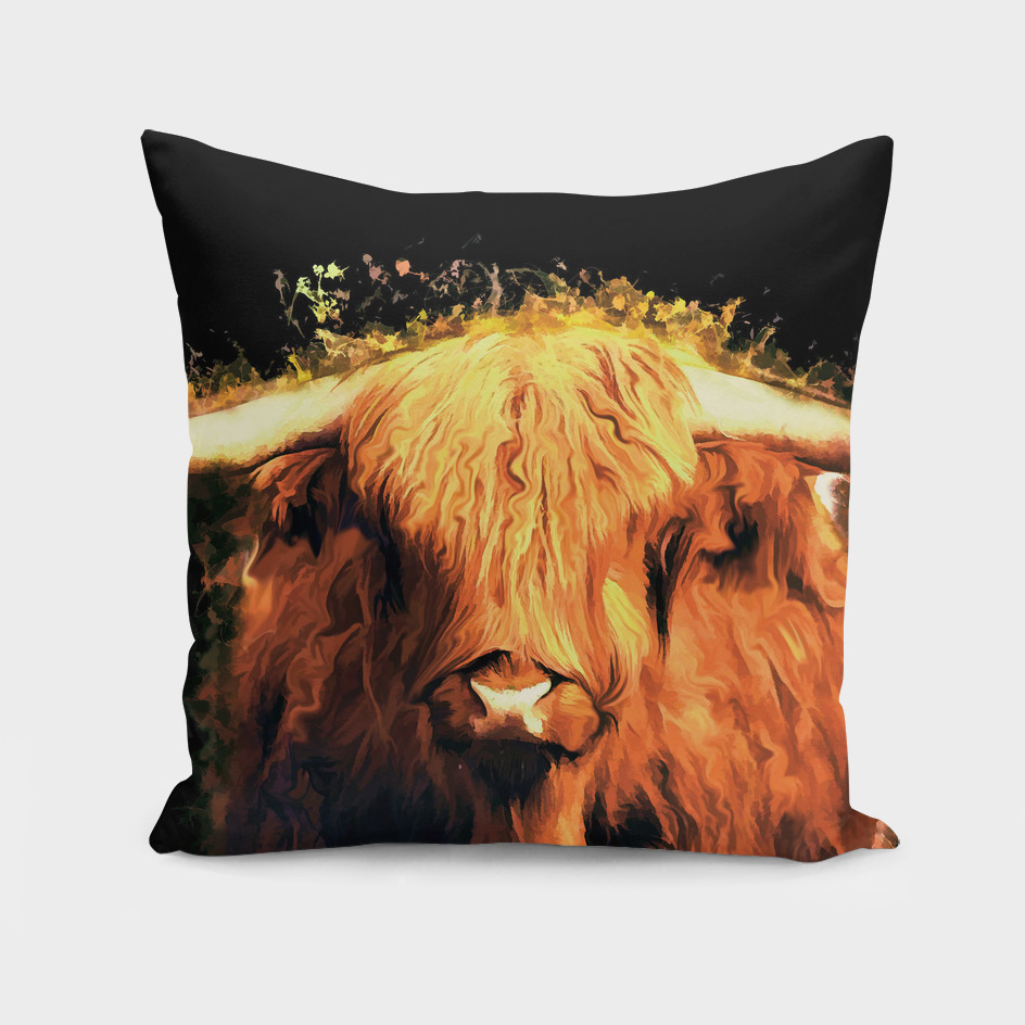 animal cow art
