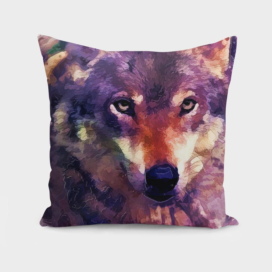 animal wolf art