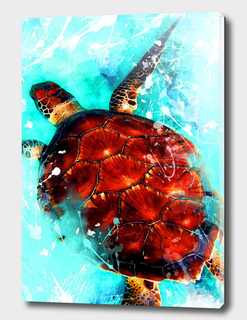 animal turtle art