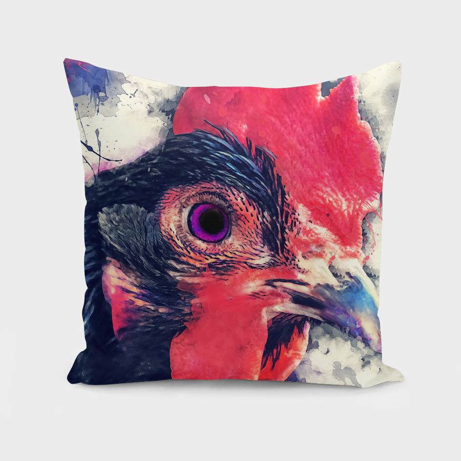 animal rooster 2 art