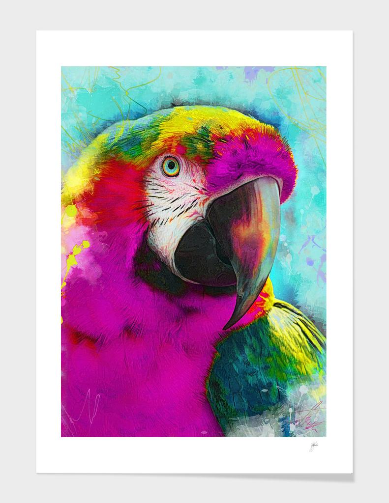 animal parrot art