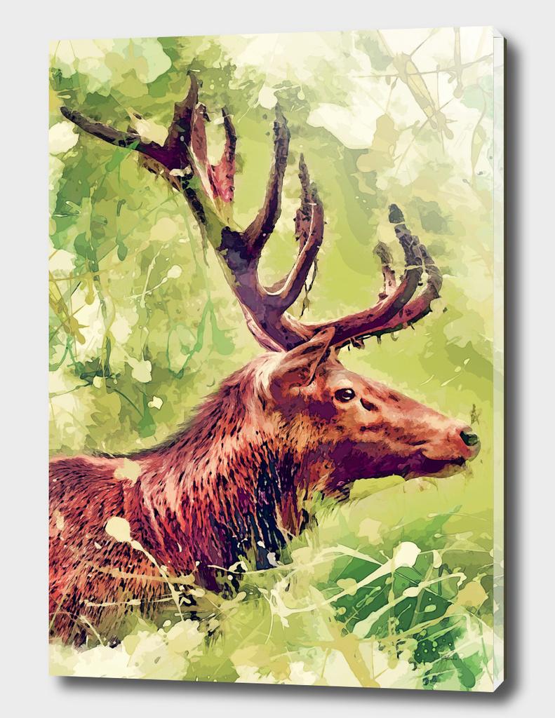 animal deer art