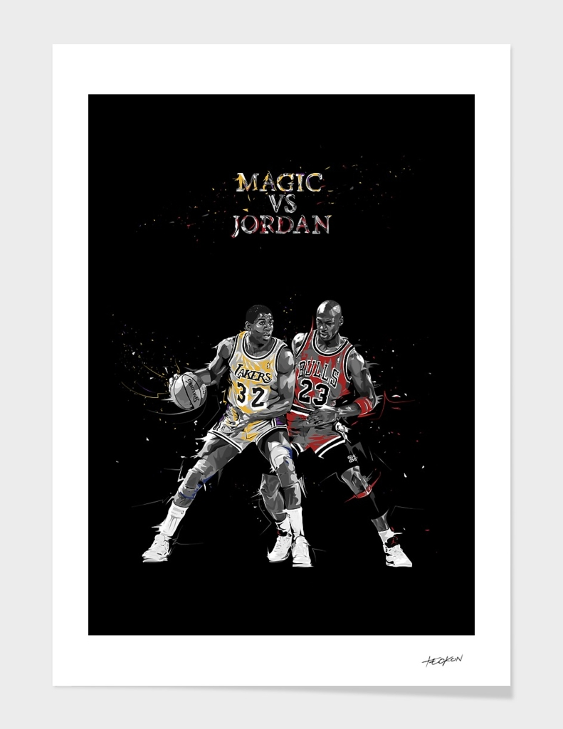 Sports Moments - Magic vs Jordan