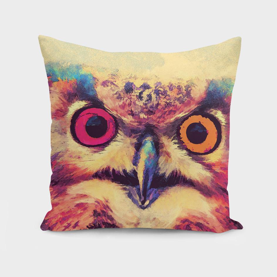 animal owl 2 art