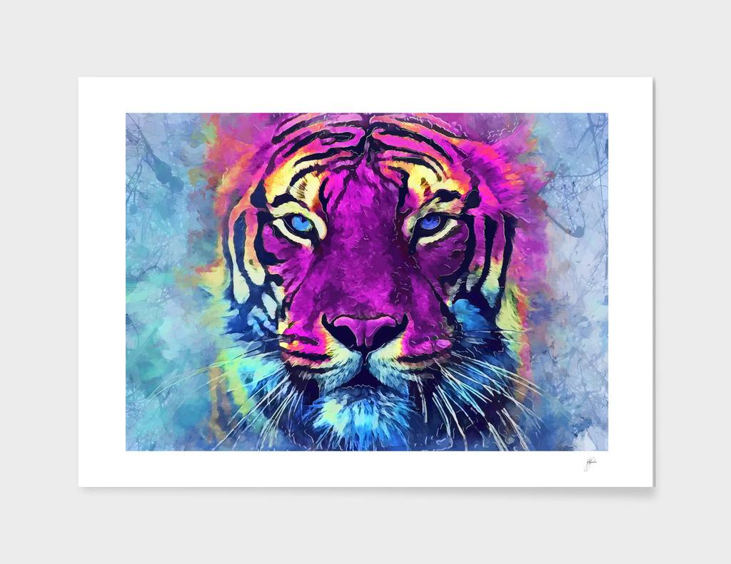 tiger purple spirit