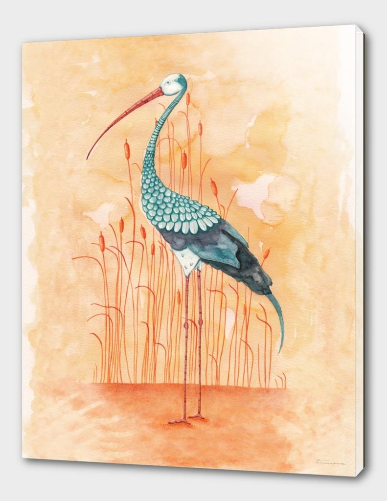 An Exotic Crane