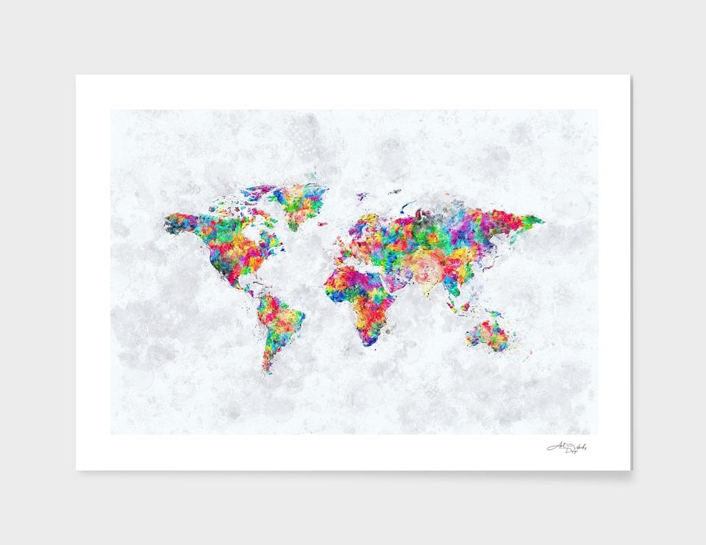 World Map III /NE