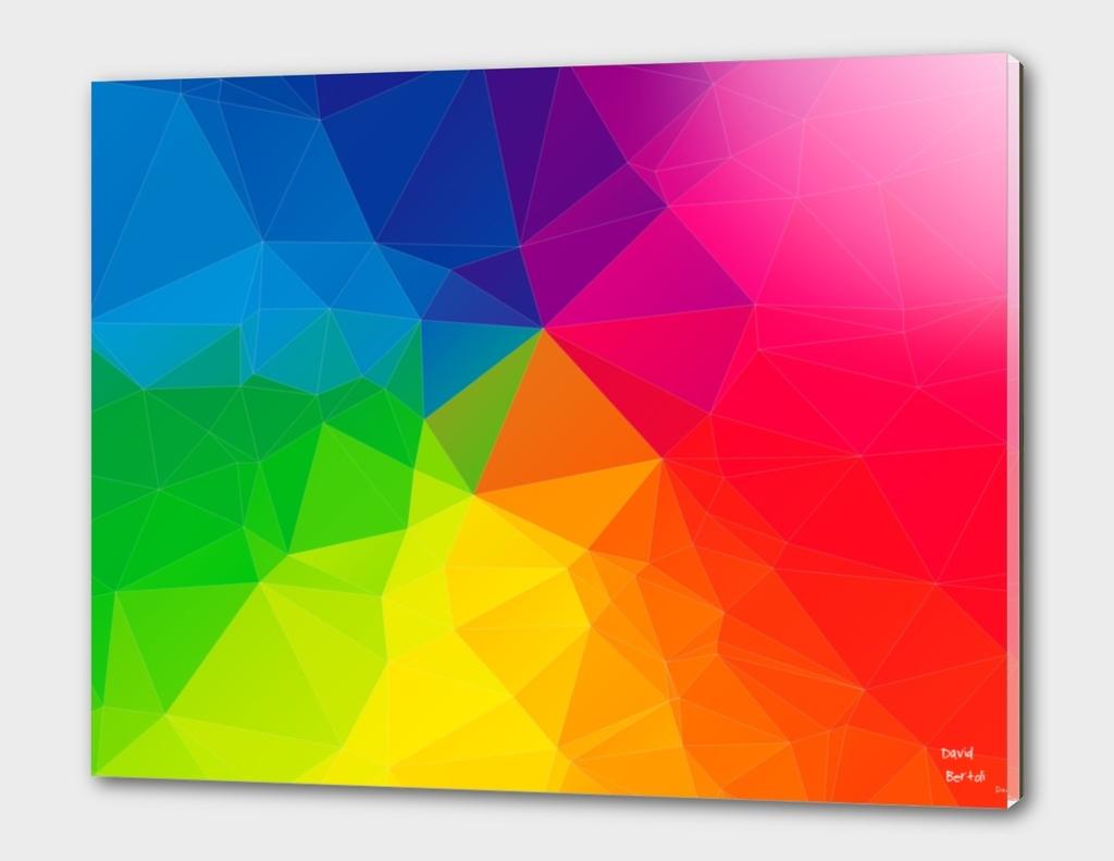 Geometric 04 - Fractal Rainbow