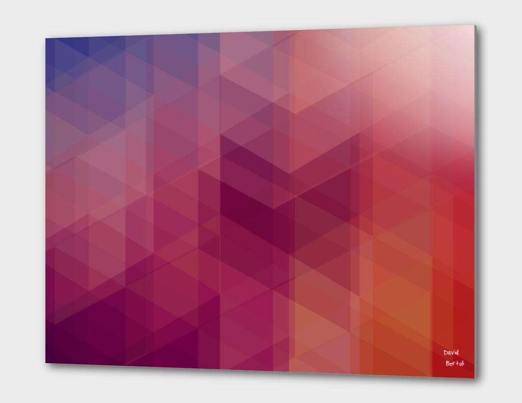 Geometric 03 - Purple Polygon