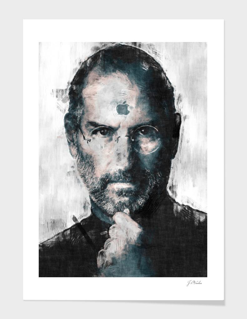 Steve Jobs portrait sketch