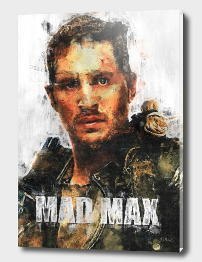 Mad Max poster sketch