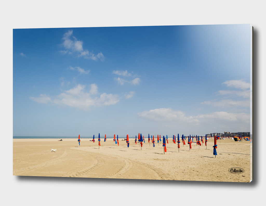 Beach at Normandy Deauville