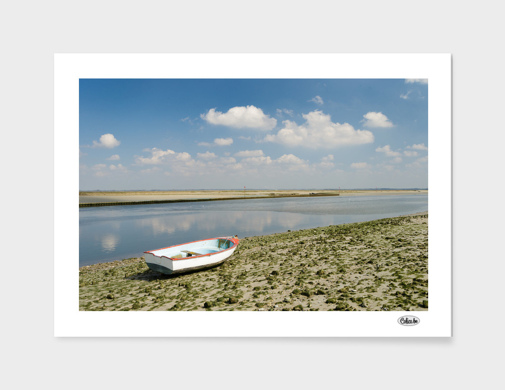 boat at riverside