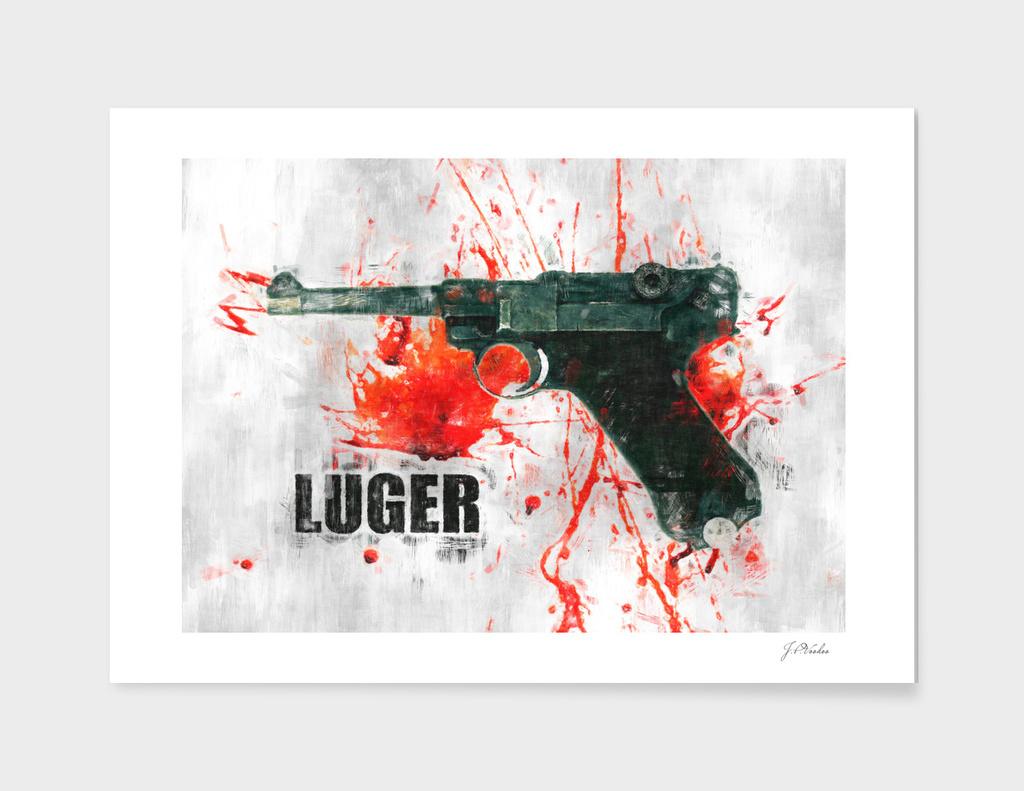 Luger sketch