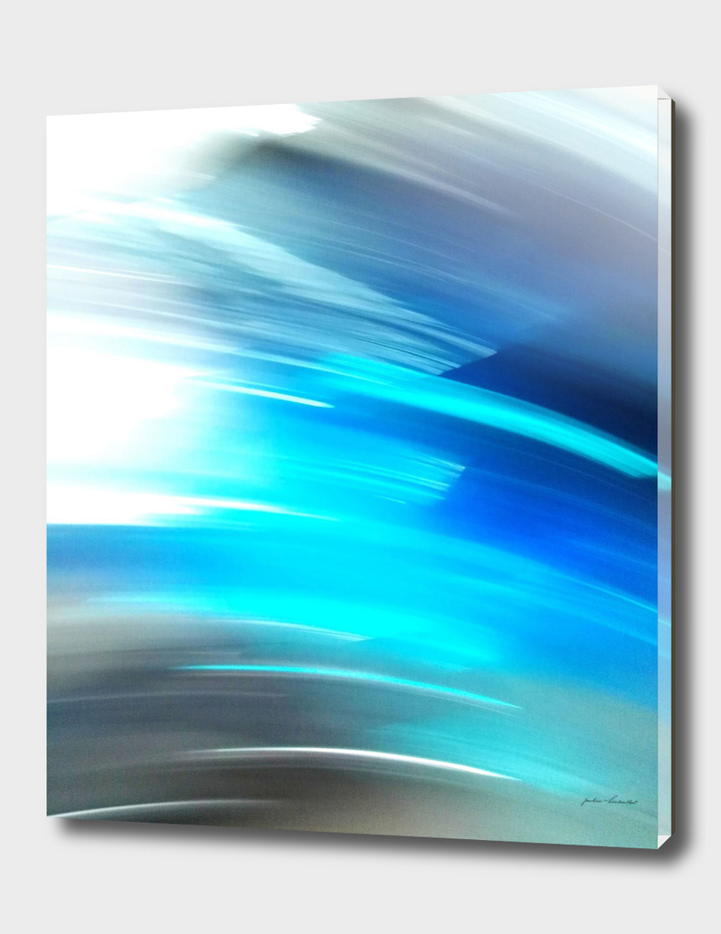 Blue Lightning Edition - Digital ART