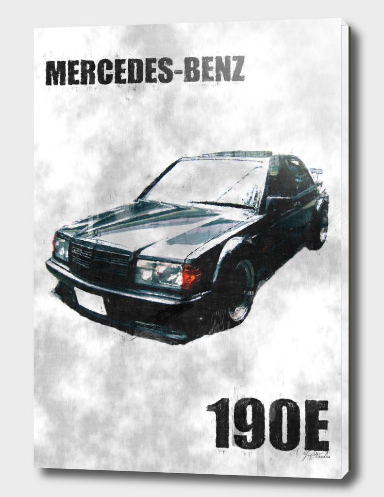 Mercedes-Benz 190E sketch