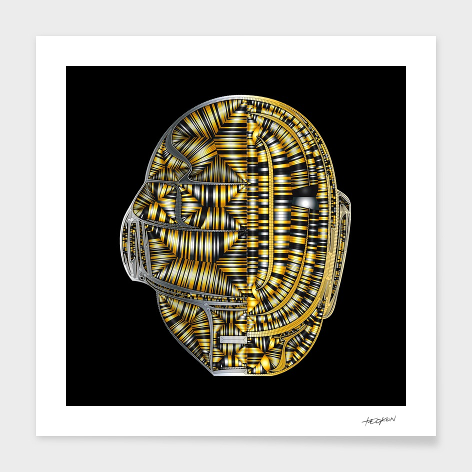 Generative Portraits - Daft Punk - Inside