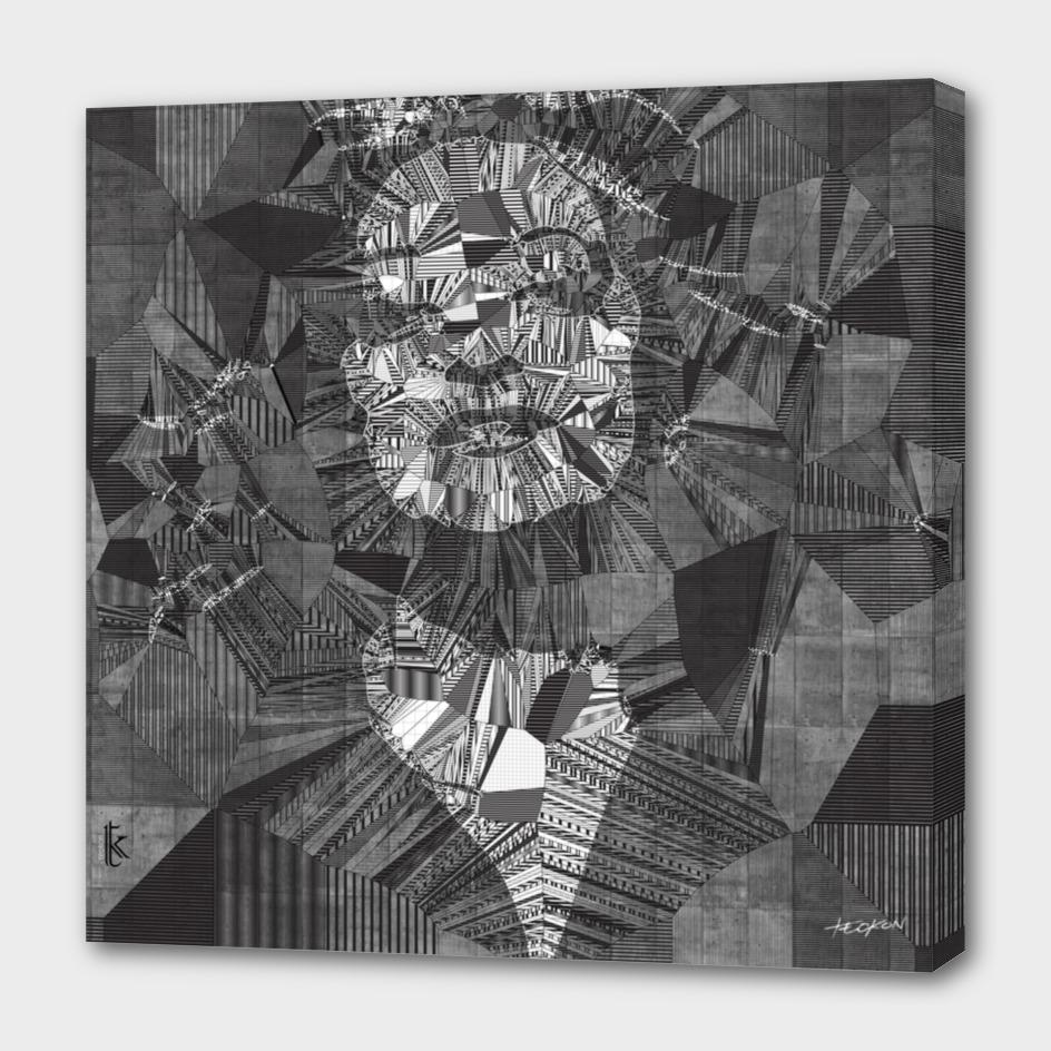 Generative Portraits - Zaha Hadid