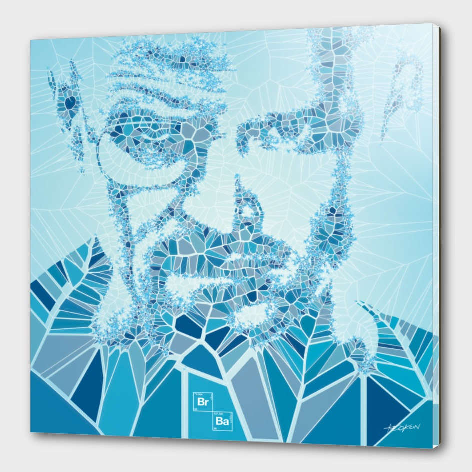 Generative Portraits - Breaking Bad - Blue Sky