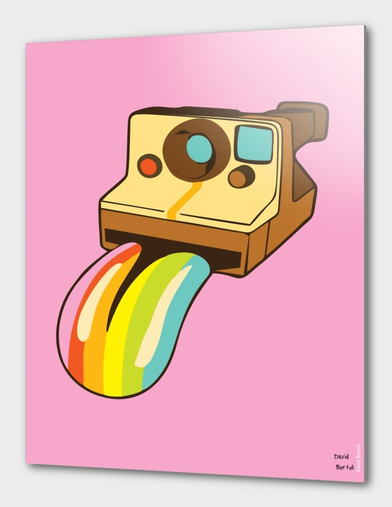 Polaroid Colors - Pink Version