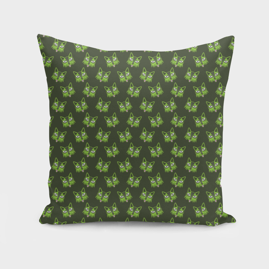 Dead PG Cat Pattern (Green)